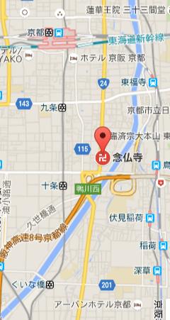 念仏寺マップ